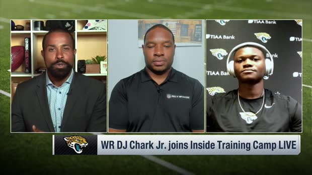 DJ Chark describes Jay Gruden's new offense in Jacksonville