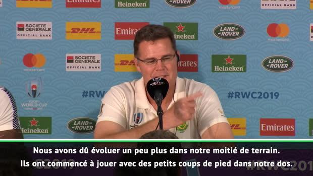 """Rugby : CdM 2019 - Erasmus - """"Une équipe d'expérience et de classe mondiale"""""""
