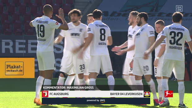 Bundesliga: FC Augsburg - Bayer 04 Leverkusen | DAZN Highlights