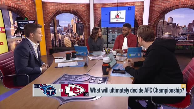 'Good Morning Football' previews Tennessee Titans-Kansas City Chiefs AFC Championship Game