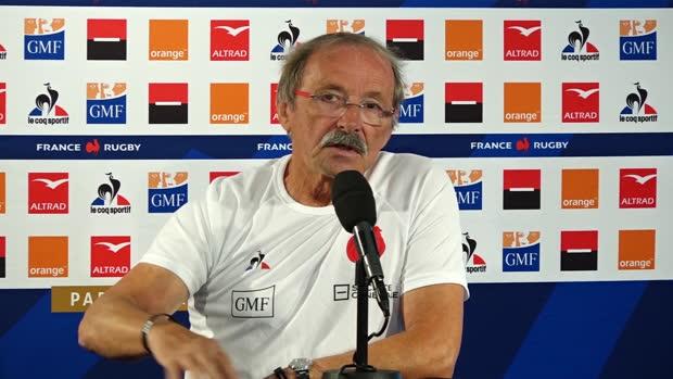 XV de France - Brunel - 'Une Coupe du Monde est un moment unique et le fruit d'une génération'