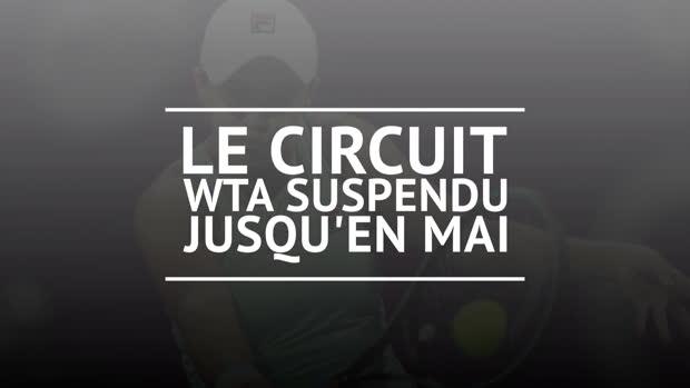 Tennis : Coronavirus - Le circuit WTA suspendu jusqu'en mai