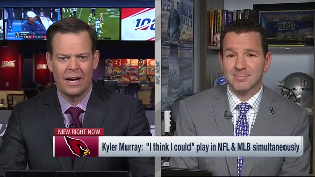 NFL Network Insider Ian Rapoport: Arizona Cardinals quarterback Kyler Murray playing in MLB 'not going to happen'