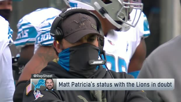 Rapoport: 'Patience is waning' for Matt Patricia in Detroit