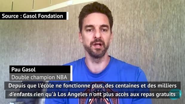 Basket : Coronavirus - Gasol évoque les conséquences dramatiques pour les enfants de Los Angeles