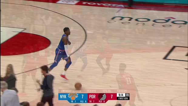 WSC: Damian Lillard with 31 Points vs. New York Knicks