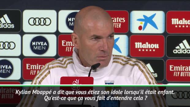 Real - Zidane répond à la déclaration de Mbappé