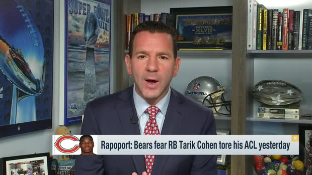 Rapoport: Bears fear Tarik Cohen tore his ACL