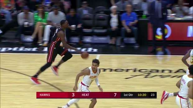WSC: Duncan Robinson 3-pointers in Miami Heat vs. Atlanta Hawks