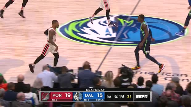 WSC: Damian Lillard with 34 Points vs. Dallas Mavericks