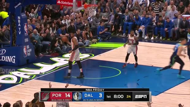 WSC: Luka Doncic with 35 Points vs. Portland Trail Blazers
