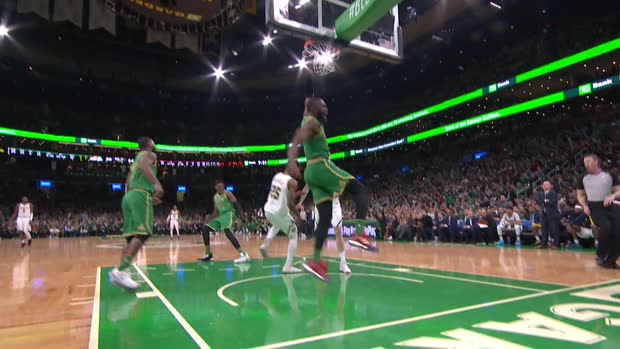 Dunk of the Night: Jaylen Brown