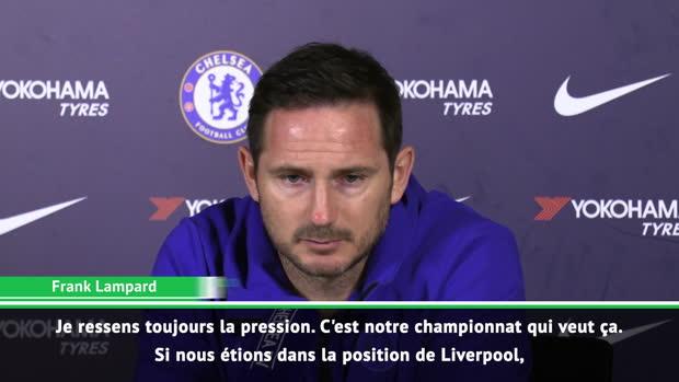 27e j. - Lampard - 'Je ressens toujours la pression'