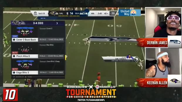 The Checkdown x 'Madden NFL 20': Top 10 plays
