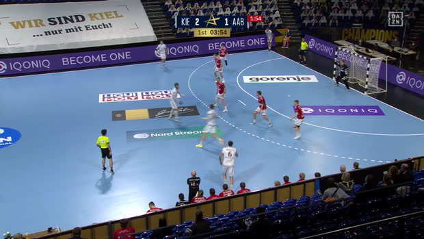 EHF Champions League: THW Kiel - Aalborg | DAZN Highlights