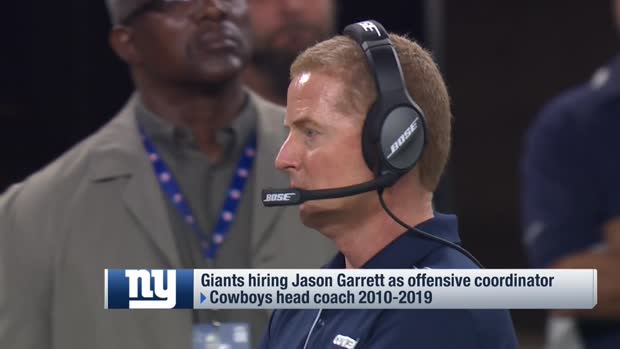 New York Giants hire Jason Garrett as offensive coordinator