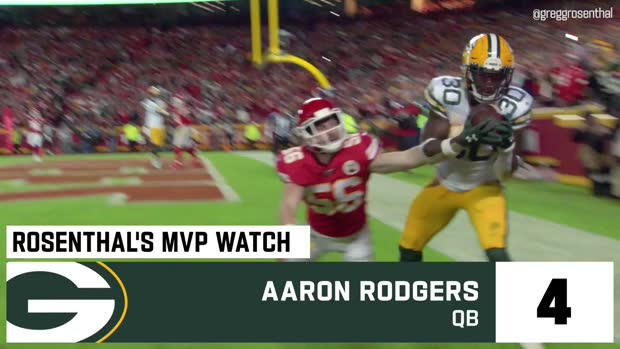 Gregg Rosenthal's MVP watch after Week 10