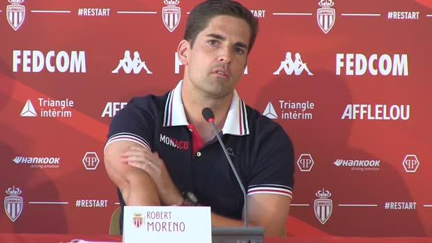 Monaco - Moreno - 'Heureux de travailler avec Mitchell'