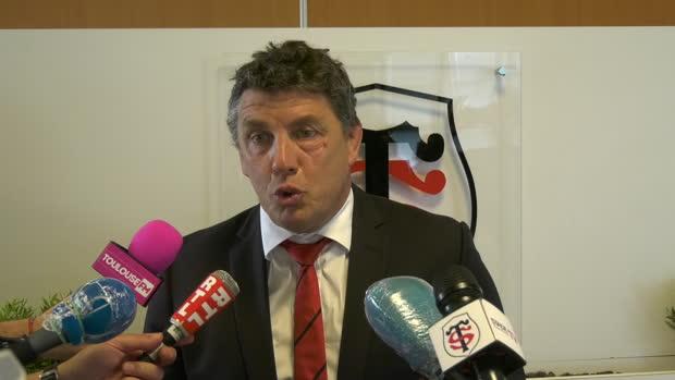 """Rugby : Top 14 - Toulouse : Lacroix : """"C'est le moment de redémarrer"""""""