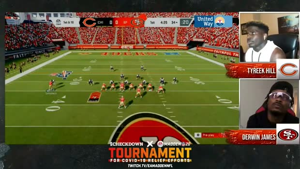 The Checkdown x 'Madden NFL 20': Tyreek Hill vs. Derwin James | Championship