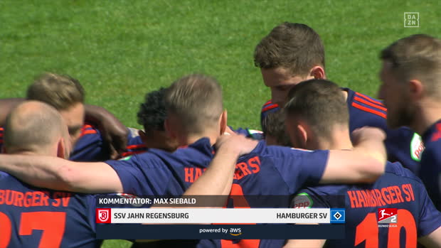 2. Bundesliga: SSV Jahn Regensburg - Hamburger SV | DAZN Highlights