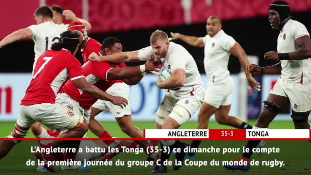 Rugby : Fast Match Report - Angleterre 35-3 Tonga