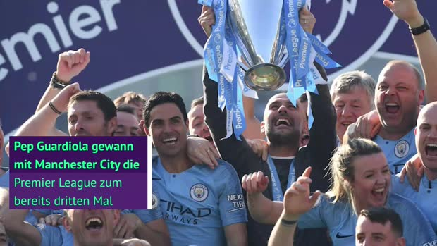 Barca, Bayern, City: Guardiolas neun Meistertitel
