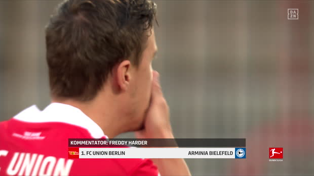 Bundesliga: 1. FC Union Berlin - Arminia Bielefeld | DAZN Highlights