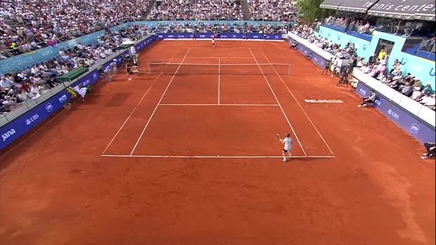 : Adria Tour - Djokovic battu par un enfant