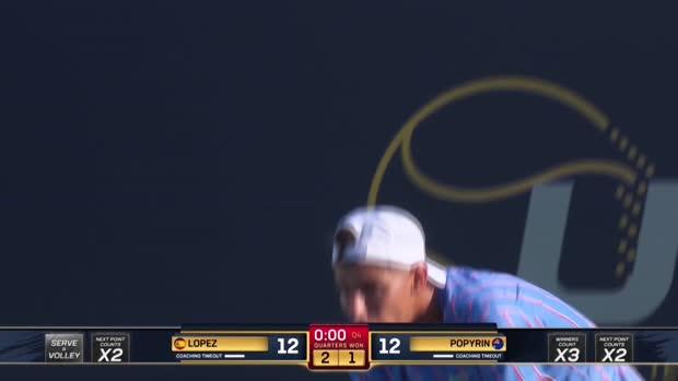 Basket : UTS 2 - Popyrin perd le match et s'emporte !