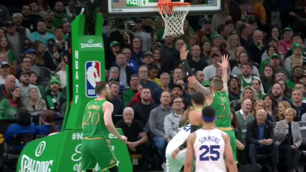 GAME RECAP: Sixers 115, Celtics 109