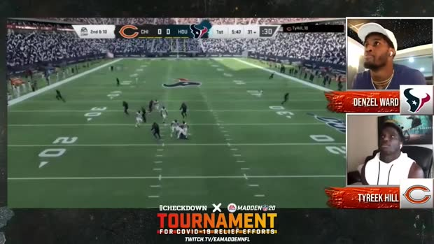 The Checkdown x 'Madden NFL 20': Denzel Ward vs. Tyreek Hill | Semifinals