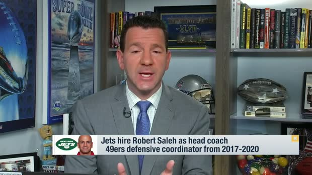 Rapoport: Jets hire Robert Saleh as head coach