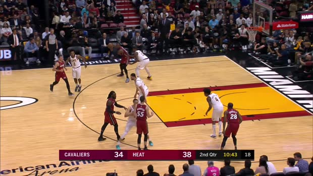 GAME RECAP: Heat 124, Cavaliers 105