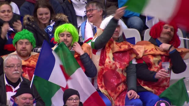 Six Nations: Frankreich - Italien | DAZN Highlights