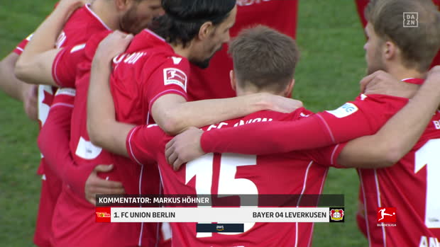 Bundesliga: 1. FC Union Berlin - Bayer 04 Leverkusen | DAZN Highlights