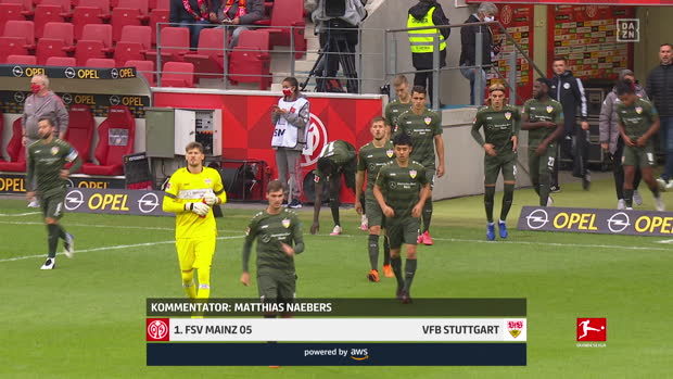 Bundesliga: 1. FSV Mainz 05 - VfB Stuttgart | DAZN Highlights