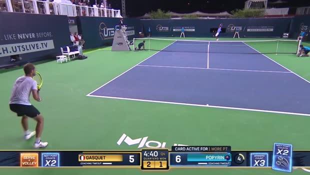 Tennis : UTS 2 - Toujours aussi chaud, Gasquet bat Popyrin