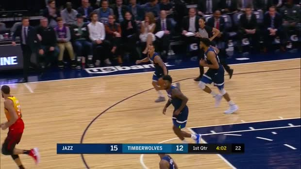 WSC: Jeff Teague with 32 Points vs. Utah Jazz