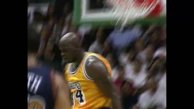 Shaquille O'Neal Lakers Mixtape | NBA Archiv