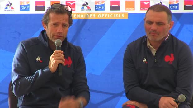 XV de France - Galthié pas stressé pour sa première - ''On dort très bien''