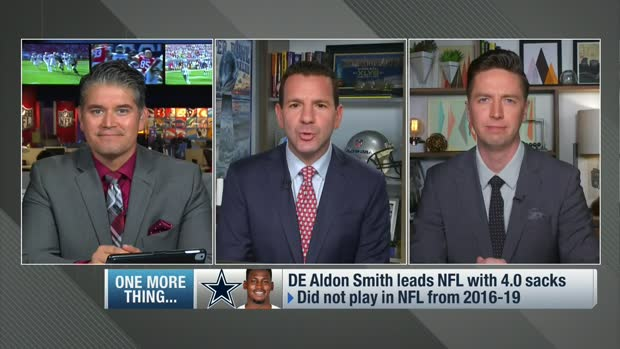 Rapoport: Aldon Smith halfway to reaching a $500K sack incentive for Cowboys