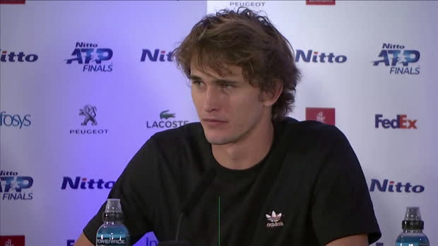 : ATP Finals - Zverev - 'Les jeunes sont en train de progresser très vite'