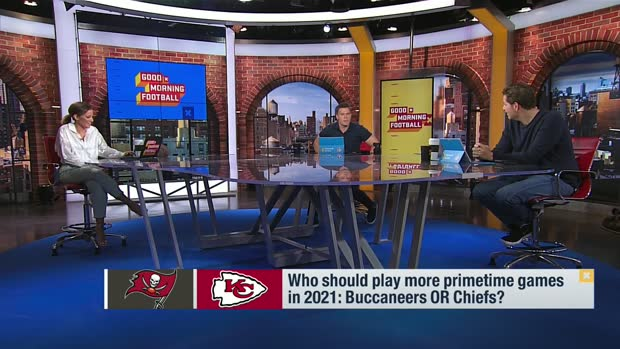 Bucs vs. Chiefs: Which team should get more primetime games in '21?