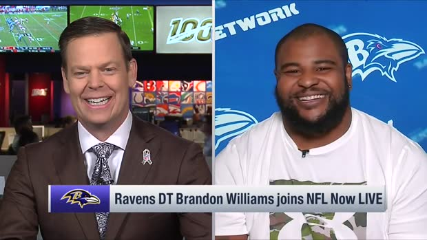 Brandon Williams wishes he had a chance to tackle Lamar Jackson in a game