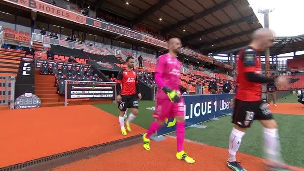 Ligue 1: Lorient - Lille | DAZN Highlights