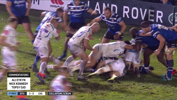 Aviva Premiership - Highlights - Bath Rugby v Exeter Chiefs - Round  2