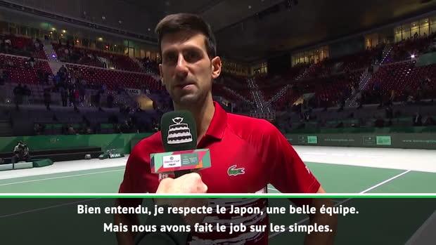 Tennis : Coupe Davis - Djokovic craint l'équipe de France