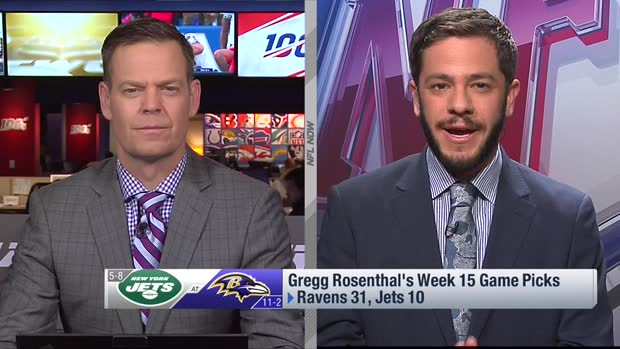 Gregg Rosenthal's game pick for Jets-Ravens on 'TNF' in Week 15