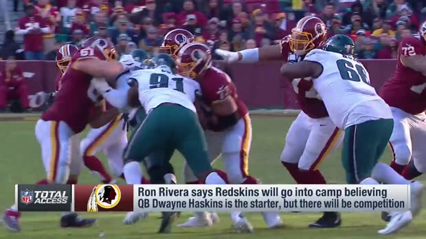 NFL Network Insider Ian Rapoport, Mike Garafolo decode head coach Ron Rivera's comments on the Washington Redskins' quarterback situation